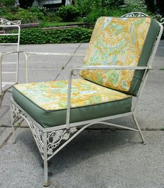 Marvelous Vintage Woodard Iron Patio Set Sofa Pair Chairs By Groovygirl60