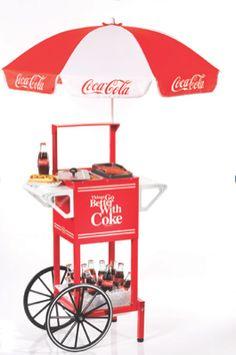 HDC510COKE COCA-COLA™ Hot Dog Cart