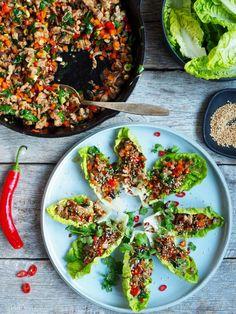 One pot wonder - lettvint gryterett - Mat På Bordet A Food, Food And Drink, One Pot Wonders, Asian Recipes, Ethnic Recipes, Vegetable Pizza, Food Inspiration, Low Carb Recipes, Tapas