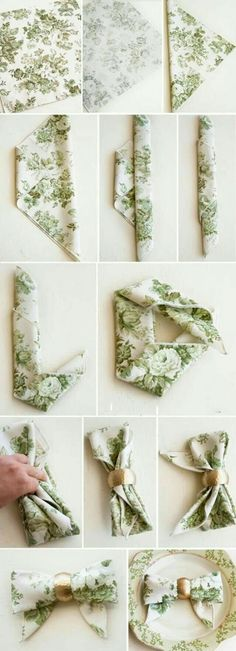 How to make your home decor #tablesetting, how to create these lovely napkin ideas