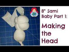 DIY   How to make a cloth doll head Step by Step - YouTube