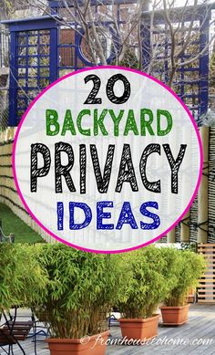 When we Are talking about the home decoration, we cannot forget talking about the Backyard Privacy Ideas. Backyard -- the outside side of the home decoration, Lattice Privacy Fence, Privacy Screen Outdoor, Backyard Privacy, Pergola Patio, Backyard Patio, Privacy Screens, Backyard Ideas, Pergola Ideas, Patio Ideas
