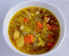 zupa z pora na płaski brzuch Ratatouille, Chili, Salsa, Cooking, Ethnic Recipes, Food, Cuisine, Chili Powder, Chilis