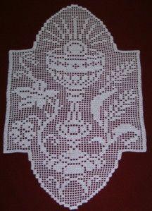 w Crochet Cross, Thread Crochet, Crochet Motif, Diy Crochet, Crochet Doilies, Crochet Stitches, Doily Patterns, Crochet Patterns, Faith Crafts