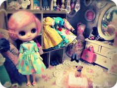 Delicious Bliss: Blythe A Day 17 ~ Closet