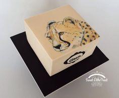 Cheetah - Cake by Sweet Little Treat