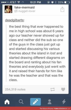 School if kids taught it.