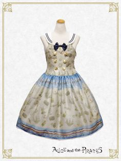 Alice and the Pirates Little dreaming sailor〜Small adventure in the garret〜jumper skirt Ⅰ