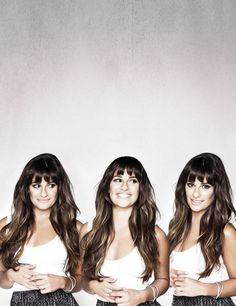 Lea Michele's hair is amazing