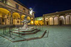 DA VEDERE: Piazza Santissima Annunziata con la bellissima fontana manierista di Pietro Tacca