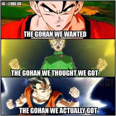 The gohan we deserve! A dbz.go Original please give credit if reposted thanks Follow: @dbz.go for more hot content! stay saiyan! Your Opinion Is Important: Leave A Comment