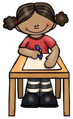 Niña tarea Art Activities For Kids, Preschool Learning Activities, Preschool Assessment, Art Drawings For Kids, Art For Kids, Cute Images, Cute Pictures, Breast Cancer Art, Material Didático