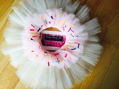 Cupcake costume tutu sweet tutu donut tutu by HandyMandyGirl