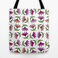 Tote Bag featuring Flowers On The Beach by Robin Gayl