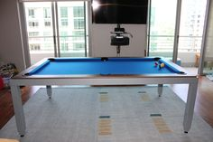 Two New Dining Pool Table Options DK Billiards Pool Table Moving - Pool table repair san diego