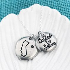 This is the CUTEST LDS Mormon Missionary necklace!!! Customizable for any of the 50 states! I'm obsessed with how cute this is. Perfect for gift missionaries, missionary mom, missionary girlfriend and future missionaries.