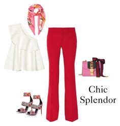 """Chic splendor"" by chic-splendor on Polyvore featuring Solace, Gucci and Salvatore Ferragamo"
