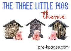 Three Little Pigs Preschool Activities