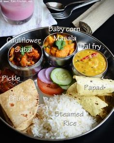north-indian-thali by Raks anand, via Flickr