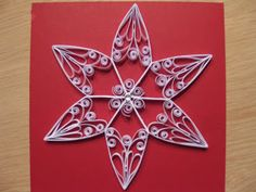 Quilling stars.
