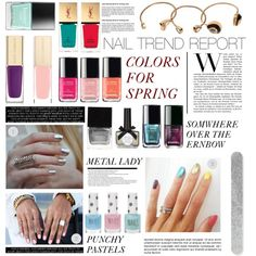 """Untitled #196"" by zitanagy on Polyvore Beauty Nails, Beauty Makeup, Hair Makeup, Hair Beauty, Nail Trends, Makeup Trends, Beauty Trends, Nail Accessories, Nail Art Hacks"
