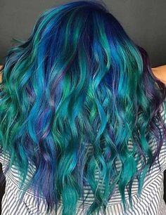 25 Mesmerizing Mermaid Hair Color Ideas