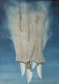 Mikuláš Medek - The bag Surrealism, Artwork, Painting Art, Bag, Work Of Art, Auguste Rodin Artwork, Artworks, Bags, Illustrators