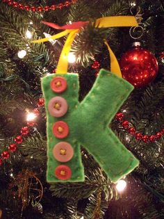 ornaments as gift tags