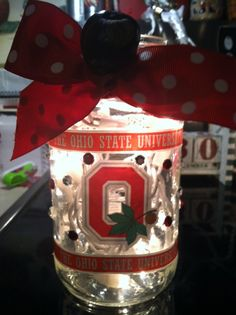 Ohio State Lighted Jar - $15