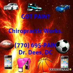 ROSWELL'S ACCIDENT INJURY WELLNESS DOCTOR (770) 695-PAIN... Accepting New Patients..  DEES FAMILY CHIROPRACTIC 1150 Grimes Bridge Rd. Suite 400, Roswell, GA 30075   #Atlanta #Georgia #chiropractic #wellness #athletes #bodybuilding #followforfollow #crossfit #mma #baseball #soccer #basketball #tennis #runners #swimmers #lacrosse #karate #judo #bjj #taekwondo #boxing  #wrestling #nofilter #bestoftheday #picoftheday #instagramhub #instadaily #igers #motivation #followforlikes   FREE WELLNESS…