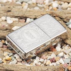 Zippo American Classic Windproof Lighter With Crown Stamp