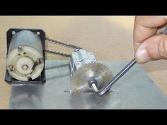 Homemade Mini Circular Table Jig Saw DIY Cutting PCB Machine Wood CNC Mo...