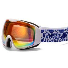 Men's Women Winter Big Ski Goggles Double Outdoor Sport Anti-fog Eyewear Snowboarding Cycling Skiing Hiking UV400 Glasses VK016