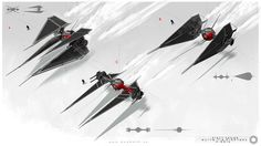 First Order: Tie Fighter by Mack Sztaba | Design | 2D | CGSociety
