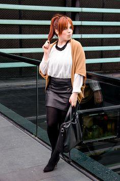 Nuevo look en el blog! | New look up on my blog!  ▶ http://www.mvesblog.com/2014/02/toasted-cardigan.html  #outift #look #styleblogger #fashion #fashionblogger