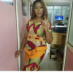 Smart Way to Rock Ankara Blouse and Skirt - DeZango Fashion Zone
