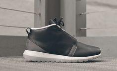 """Nike Roshe Run NM Sneakerboot """"Black & Grey"""""""