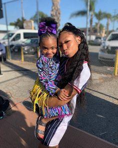 i seen eisha Black Baby Girls, Black Girl Art, Black Kids, Cute Little Girls Outfits, Cute Swag Outfits, Kids Outfits, Cute Kids Fashion, Girl Fashion, Black Girl Cartoon