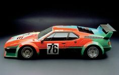 Andy Warhol's Art Car is one of the most iconic race cars of all time. Apparently, it took Warhol only 23 minutes to paint the entire car in The Warhol raced only once at the Le Mans 24 hour race in It finished second in their class and sixth overall. Bmw M1, Suv Bmw, Bmw Cars, Le Mans, Pittsburgh, Andy Warhol Art, Automobile, Bmw Classic Cars, Ex Machina
