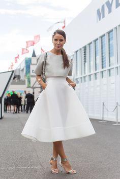 structured midi skirt                                                                                                                                                     More