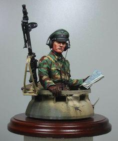 German panzer commander