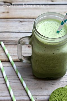 Green Tea Frappuccino. It's full of antioxidants plus collagen protein to support healthy skin.