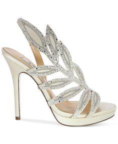 Nina Fauna Platform Evening Sandals - Evening & Bridal - Shoes - Macy's