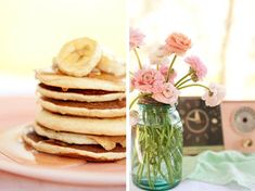 A pancake breakfast... perfect way to start a morning with friends!