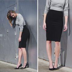 Katarina V. - Pencil skirt.