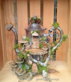 Whimsical Foraged Fairy Houses You Would Think Were Actually Made By Fairies - Garden Therapy