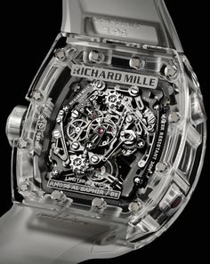 Richard Mille RM 056 All Sapphire Crystal Watch