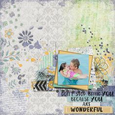 They are so sweet together! Kit: Somekind of Wonderful by: Created by Jill Scraps