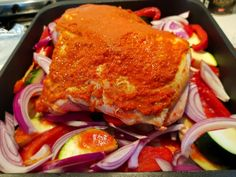 slow roasted harissa lamb shoulder keto