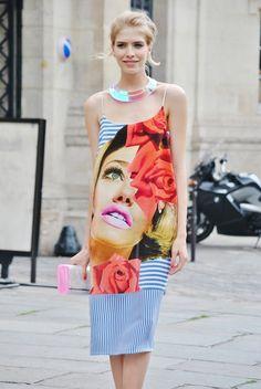 On the street In Paris_Elena Perminova <3 Fashion Style